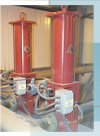 Red Valves Control Pinch Valves